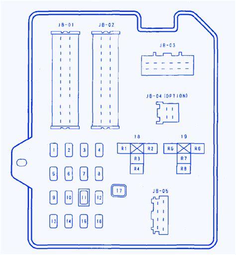 mazda 6s 2 3l 2007 fuse box block circuit breaker diagram