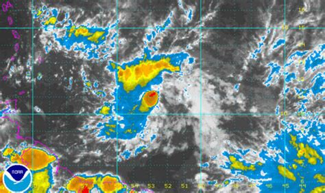 tropical storm don  path  noaa updates  hurricane centre issues alert weather