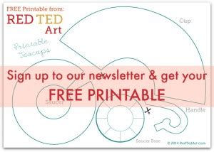 paper teacup printable amp tea party games red ted art s blog