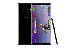 samsung galaxy note 9 source samsung galaxy note 9 to launch with fortnite mobile