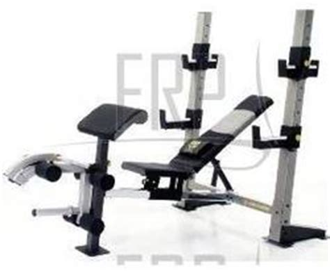 golds gym weight bench parts gold s gym pro series gb 2000 ggbe25640 fitness and