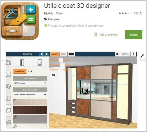 closet layout design tool walk in closet design tool closet app utile 3d home interior