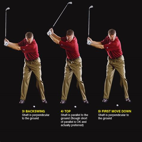 golf swing broken down into steps build a repeating swing golf com