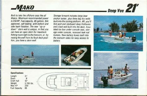 mako boats history classicmako owners club inc a bit of mako history
