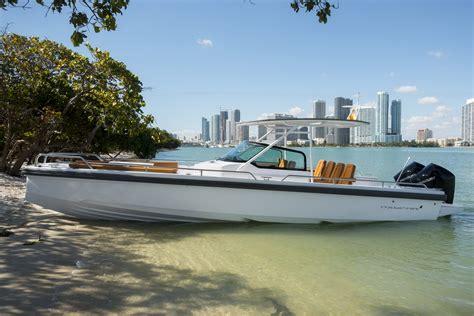miami boat show axopar all new 2018 axopar 28 now with twin engine option