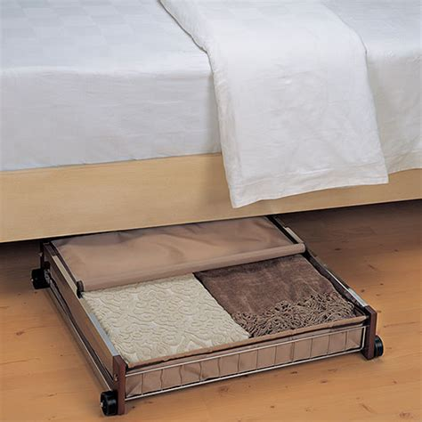 under bed storage walmart rolling under bed organizer storage organization