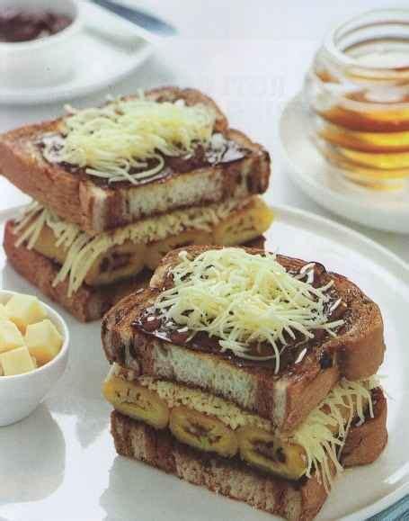 resep membuat roti bakar lezat resep membuat roti bakar pisang coklat keju enak mudah