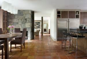 Dining Room Floor Saltillo Tile Home Depot Rustic Style For Dining Room With Tiles By Siemasko Verbridge