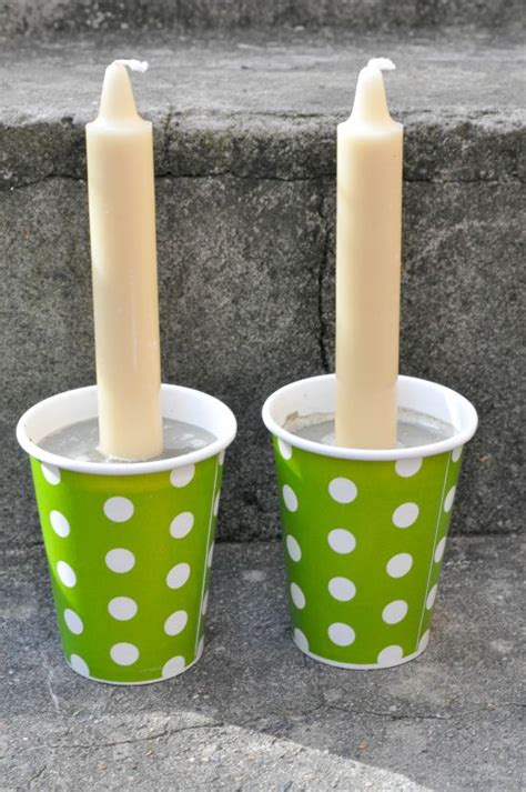How To Make A Paper Candle Holder - 37 diy home decor ideas for a vintage look