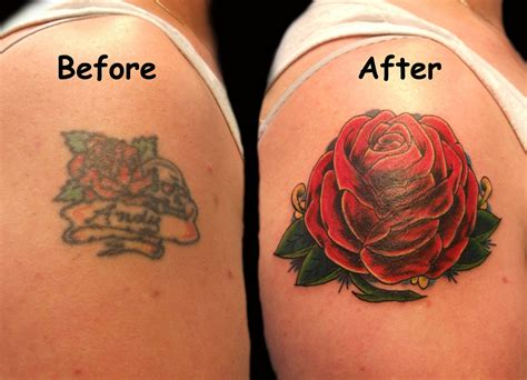 rose tattoo cover up ideas cover ups new graffiti 2012