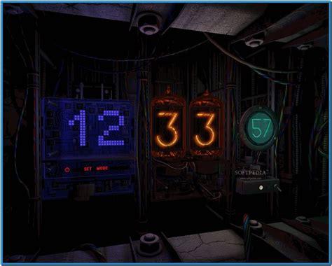 3d clock themes software digital clock 3d screensaver download free