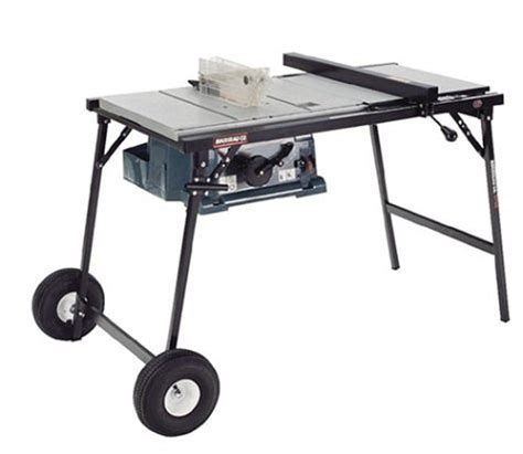 folding table saw stand rousseau 2750 portamak wheeled folding table saw stand for