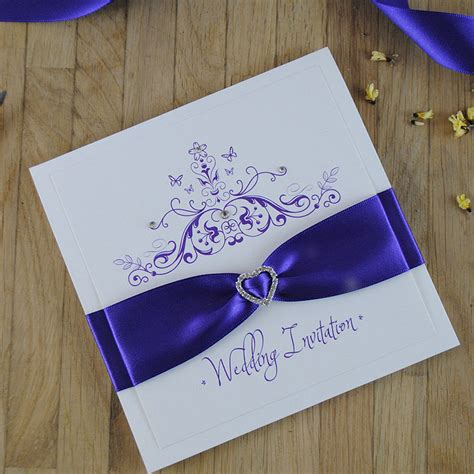 Handmade Invitations Uk - mademoiselle luxury handmade wedding invitations
