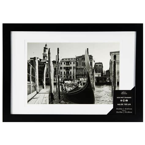 10 X 12 Opening Matted Frame - 1 opening 12 in x 18 in matted picture frame