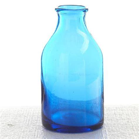 Glass Milk Bottle Vase by Milk Bottle Vase Wisteria