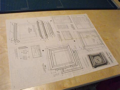 halifax bracket clock vintage woodworking plan
