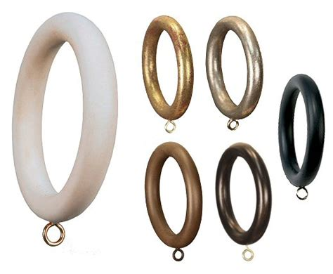 2 drapery rings 2 quot smooth drapery hardware curtain rings set of 4 new