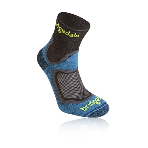 Eiger Trail Running Sock Original bridgedale run speed coolfusion mens blue black running