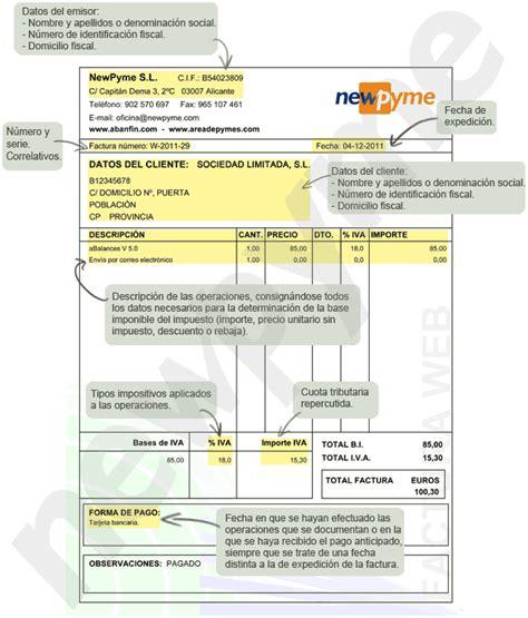 requisitos deducibilidad facturas 2016 requisitos que tiene que cumplir una factura para ser valida
