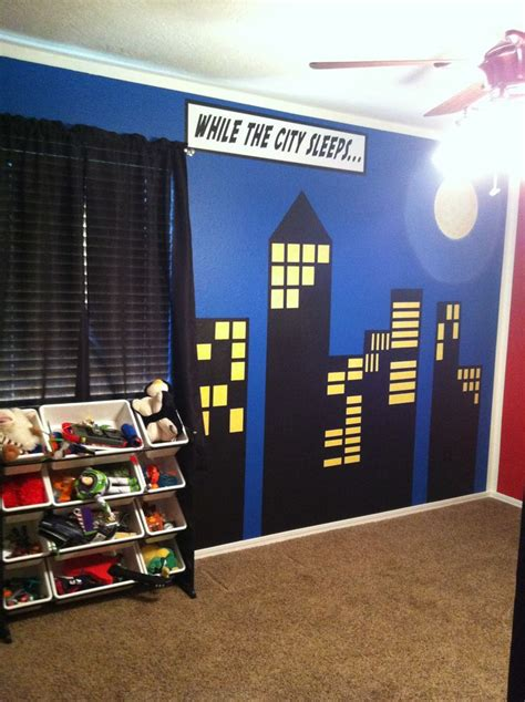 superheroes bedroom superhero comic book wall design bedroom ideas pinterest