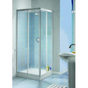 Aquarius Showers by Aqualux Aquarius Telescopic Shower Enclosure Corner Entry