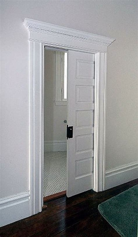 bathroom pocket doors pocket door space saver i would this for the