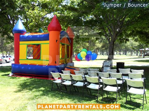 bounce house tables and chairs for rent jumper bouncer bounce house rentals jumper rental san