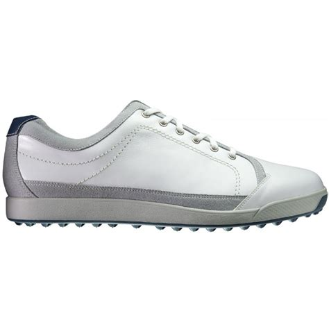 footjoy contour casual spikeless golf shoes white 54204