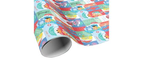 sesame gift wrap sesame personalized pattern wrapping