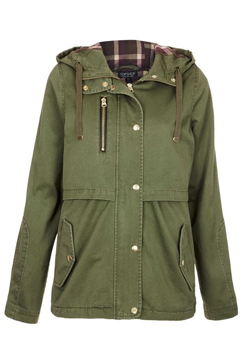 10 Jackets I by Lyst Topshop Hooded Lightweight Jacket In
