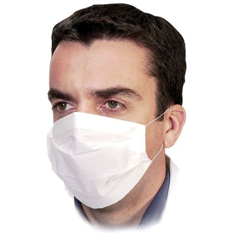 Masker Earloop 100 x disposable professional 2 ply paper earloop masks ce certified ebay
