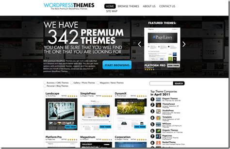 themes wordpress español premium 300 premium wordpress themes to choose from