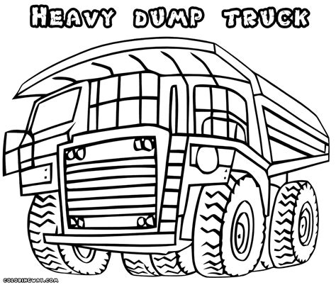 coloring page dump truck dump truck coloring pages coloring pages to and