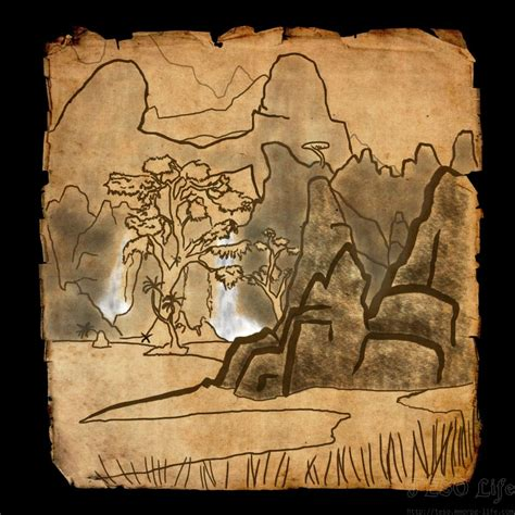 stonefalls treasure map stonefalls ce treasure map eso