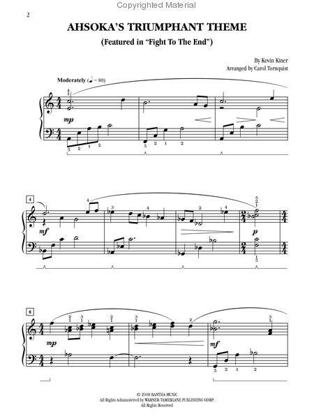 Ahsoka's Triumphant Theme | Wookieepedia | FANDOM powered