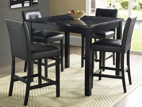 Black Marble Dining Table And Chairs Black Marble Dining Table And Chairs For Wonderful Impression