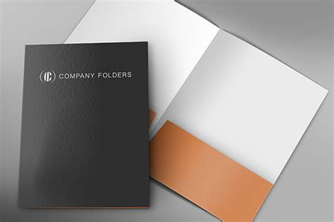 15 Free Presentation Folder Mockup Design Templates Presentation Folder Psd