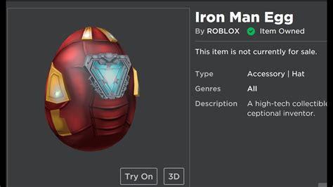 event iron man egg scrambled time