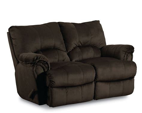 love seat recliner lane alpine double rocking recliner loveseat power