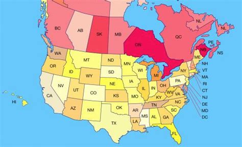 us states canada provinces map labarge weinstein llp 187 archive venture capital