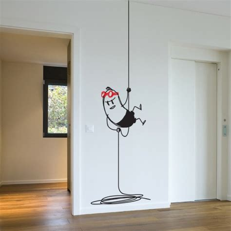 adhesive wall stickers wall decal snapling wally vinyl wall sticker