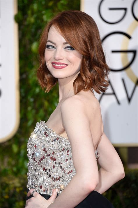 January Home Decor by 3 Easy 5 Minute Hairstyles Using Emma Stone S Metal