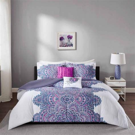 shop intelligent design katarina purple comforter set  shipping today overstock