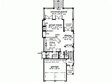 key west floor plans eplans cottage house plan key west conch style 2123