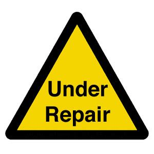 under repair | microbiologybytes.wordpress.com/ | ajc1