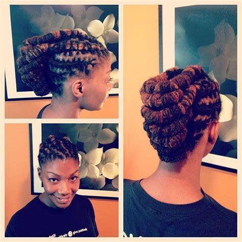 diy loc updo 97 best diy hair edition locs images on pinterest