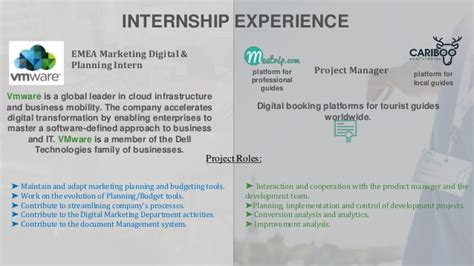 Vmware Internship Mba by Cr Presentation