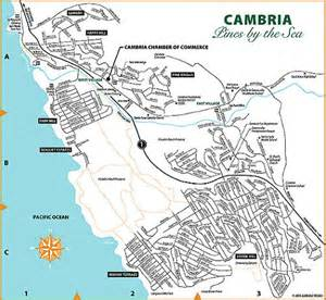 map of cambria california maps directions cambria chamber of commerce cambria ca