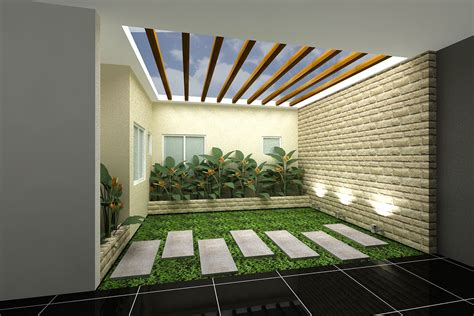 in door minimalist indoor garden from outdoor to artistic creative