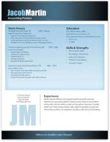 Free Modern Resume Templates For Word by Free Modern Resume Template 11 Free Resume Templates